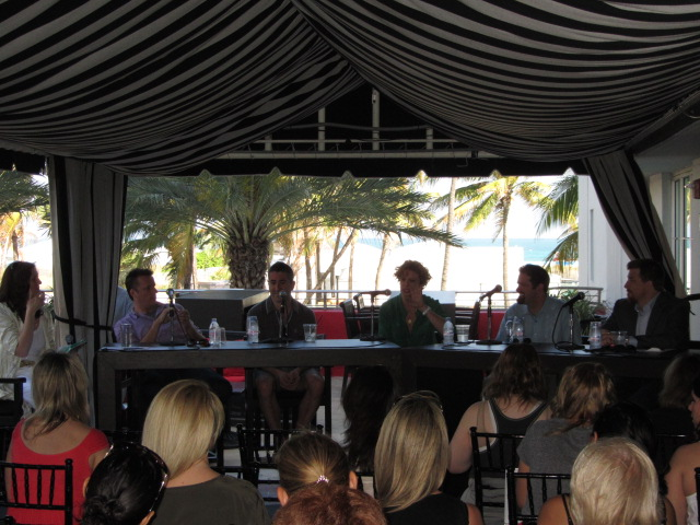 SOBEWFF Bullfrog Baum Panel South Beach