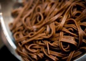 chocolate pasta italian style