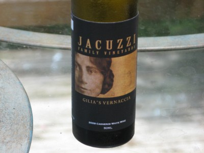 jacuzzi family wines