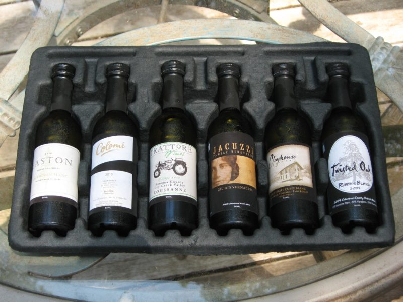 Wine samples online