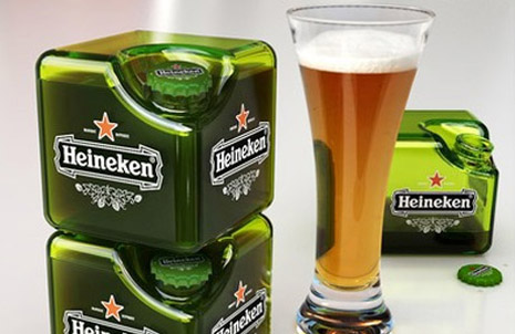 Boxed Beer, The Heineken Cube