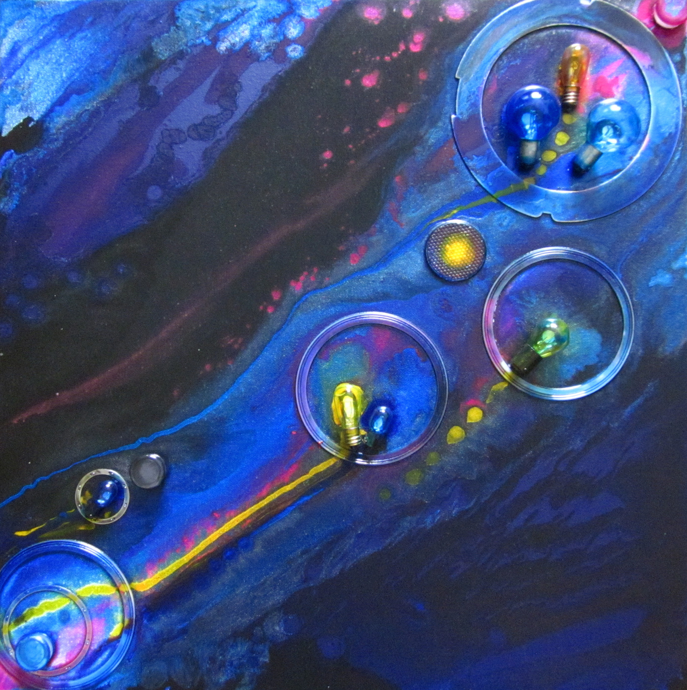 Art by Christie Miga to be seen at Arts Hub Florida & Saint Lawrence Title