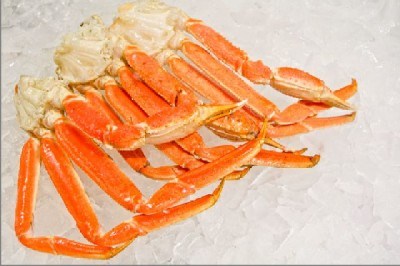 King Crab legs used in the Snow Crab Cakes recipe