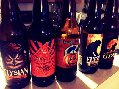 Pumpkin Beers for Fall!