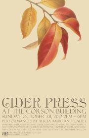 Corson Building cider press