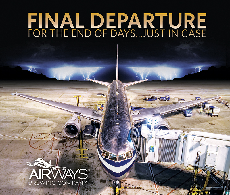 Airways Brewing Final Departure Event