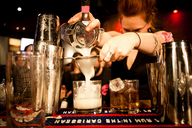 Speed Rack Bartender Competition
