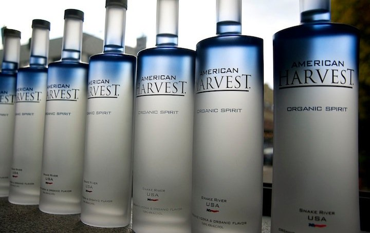 New All American Vodka Harvest Spirit