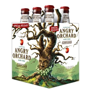ANGRY ORCHARD CIDER COMPANY ELDERFLOWER