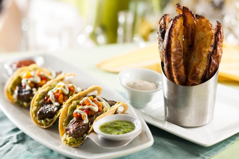 Seasons 52 Lunch Menu Steak Chimichurri Tacos