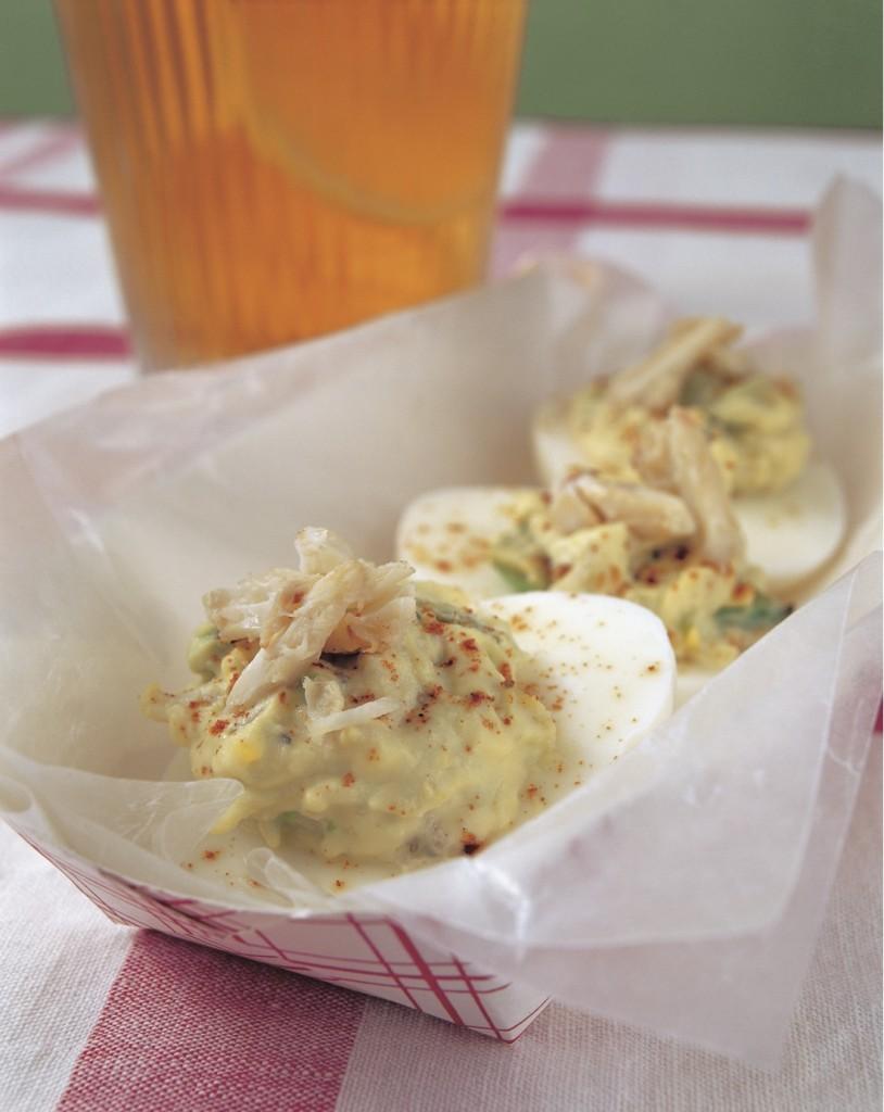 crabby eggs recipe