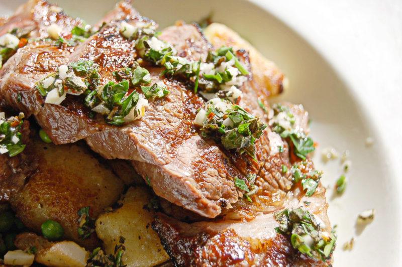 Chicago Restaurants Grass Fed NY Strip Steak