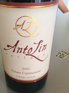 The AntoLin Carmenere was delicious! I bought a bottle and can't wait to enjoy it!