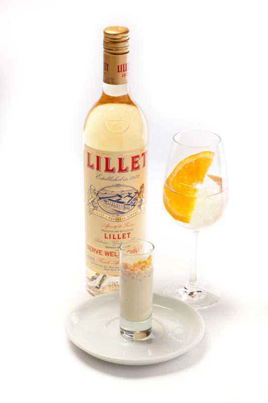 Perfect cocktail and food pairings from celebrity chef for Cocktail lillet