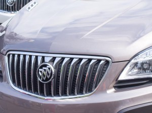 One of the Buick luxury models