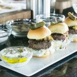 Lamb sliders from Chef Michael Psilakis