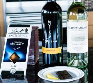 Wine tasting supplies