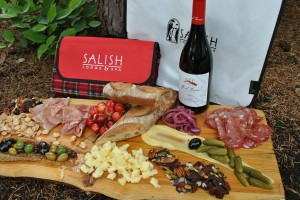 Tickets include a Salish gourmet picnic, complete with signature blanket.