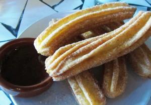 Churros at Heavy Restaurant's Barrio on Capital Hill