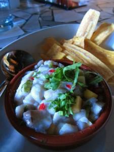 Rock Fish Ceviche at Heavy Restaurant's Barrio on Capital Hill