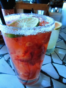 Strawberry Margarita at Heavy Restaurant's Barrio on Capital Hill