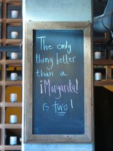 Margarita Monday! at Heavy Restaurant's Barrio on Capital Hill