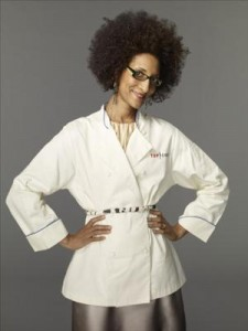 Carla Hall-Top Chef at Nitehawk Cinema Dinner