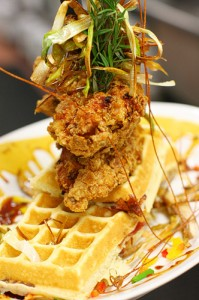 Hash House a Go Go Sage Chicken and Waffles