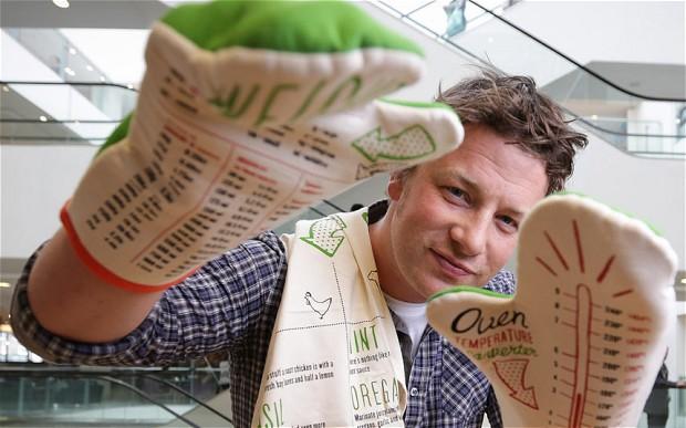 Food Network Chef Jamie Oliver
