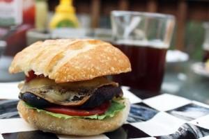 Portobello Burger by Funny Love