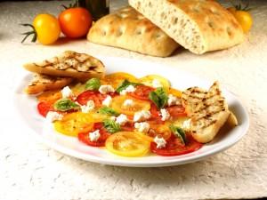 Summer-Heirloom-Tomato Carpaccio
