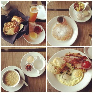Salish Lodge & Spa Country Breakfast