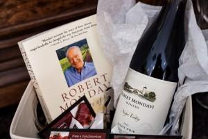 Robert Mondavi gift basket
