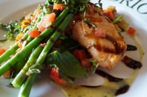 Brio Salmon Griglia Light Side meal
