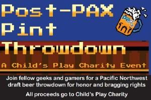 Post-PAX Pint Throwdown