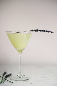 lavender lemon martini