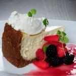 Butcher Block Restaurant Goat cheesecake