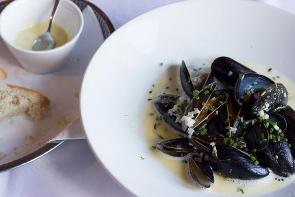 Mussels and Tarts