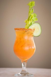 Sol Mary yellow tomato bloody mary recipe