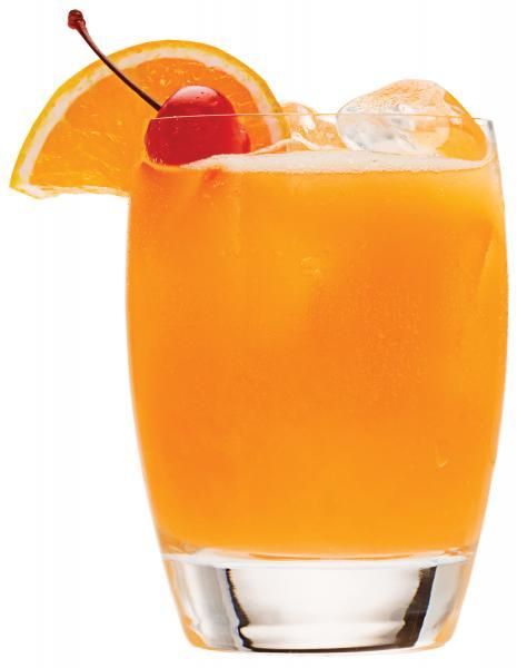 Orange-Rum Punch Recipe — Dishmaps