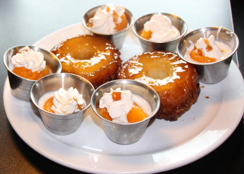 Ringling Pineapple Upside-Down Cakes