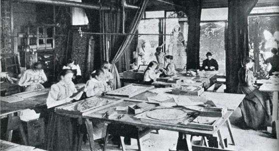 The Driehaus Museum Honors Women's History Month:  Tiffany Girls