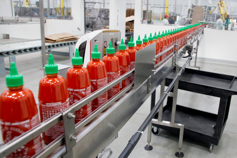 sriracha production shut down