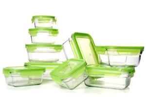 glass food storage
