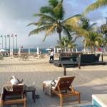 Sandals LaSource Grenada Beach Lounging