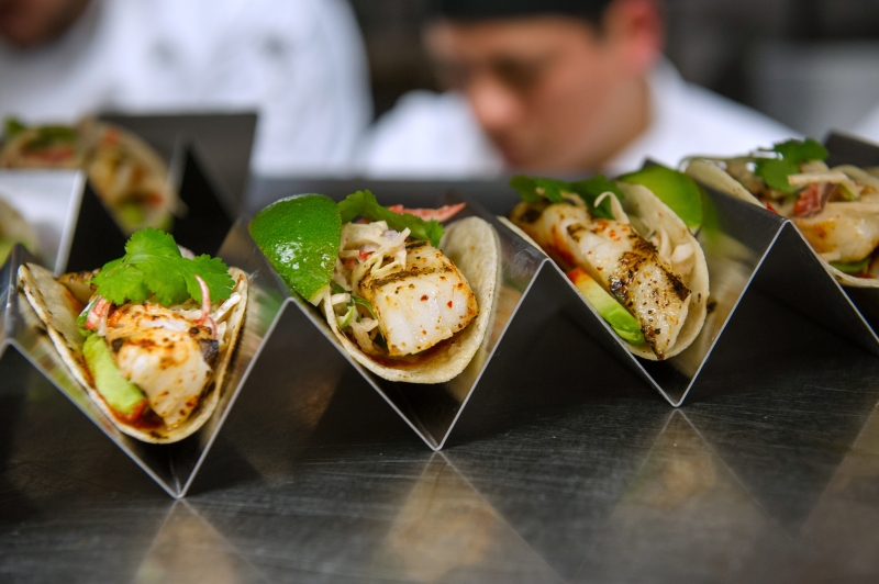 Grilled Sea Bass Taco