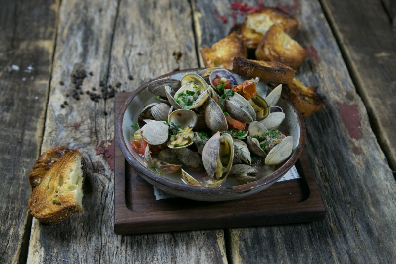 Wood Roasted Clams