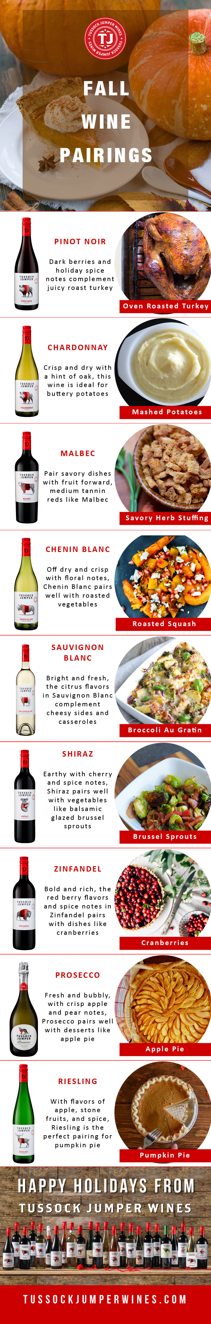 Fall Wine Pairings