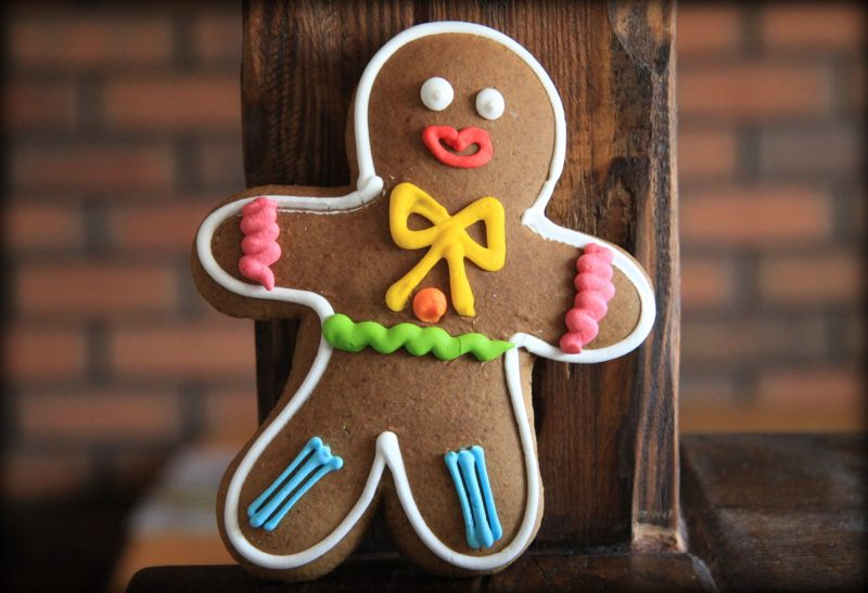 Gingerbread cookies and wine pairing