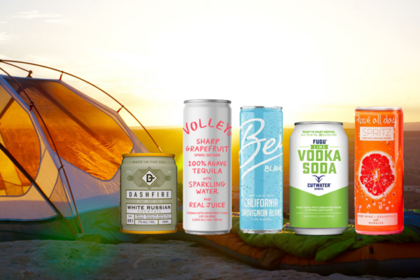 best canned drinks for camping outdoor parties
